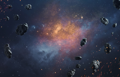 Asteroid Facts by Debongo
