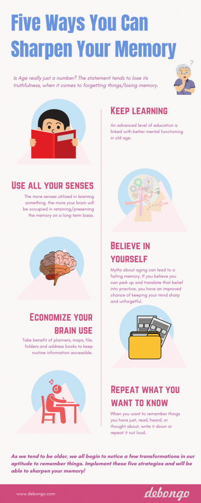 Five Ways You can Sharpen Your Memory - Debongo