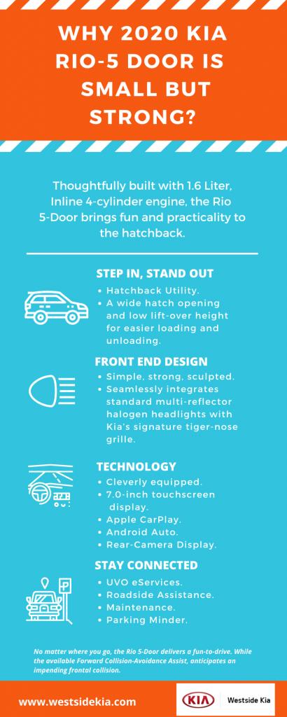 2020 Kia Rio-5 Door Features by Westside Kia