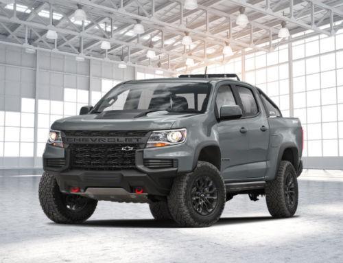 Overview of 2021 Chevrolet Colorado