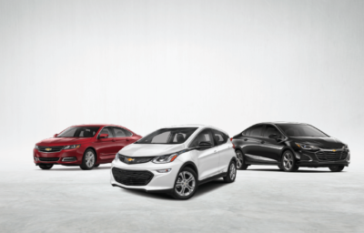 Top 3 Cars from Westside Chevrolet