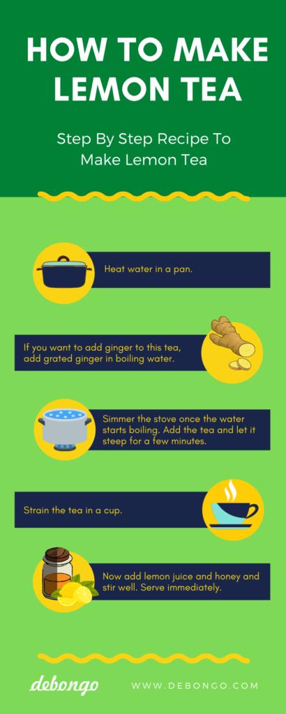 How to Make Honey  Lemon Tea