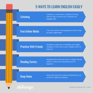 Debongo-how-to-learn-english-easily