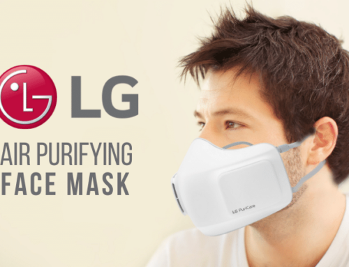 LG's New Air Purifying Face Mask