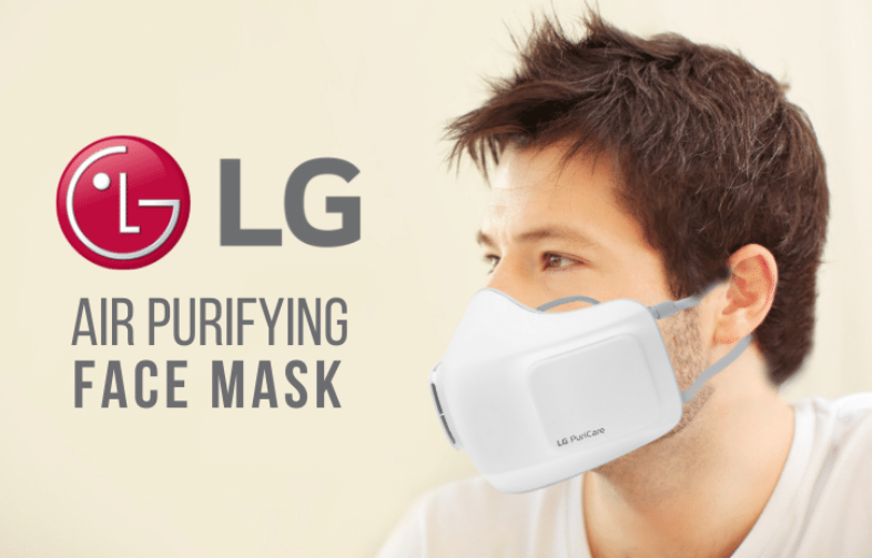 LG's New Air Purifying Face Mask. Best Mask to Wear for Coronavirus