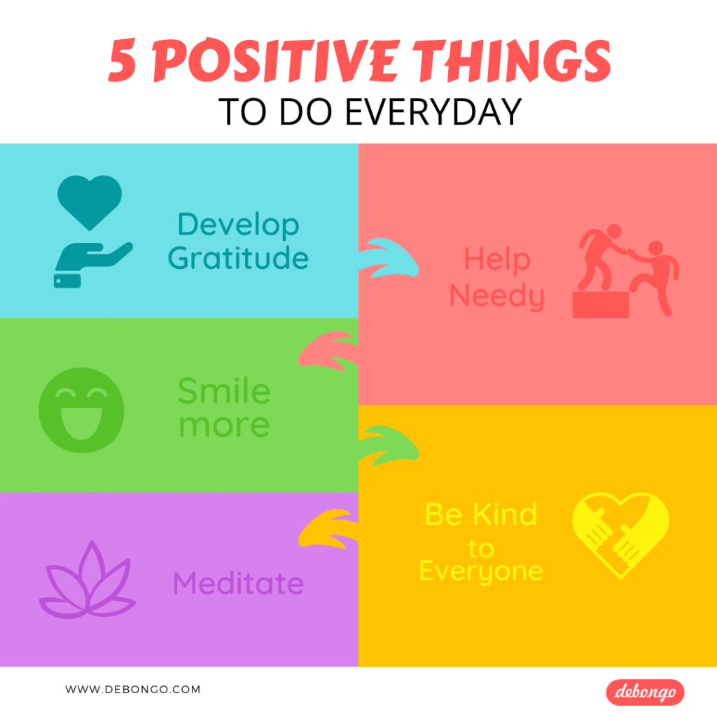 5 Positive Things to do Everyday in Life