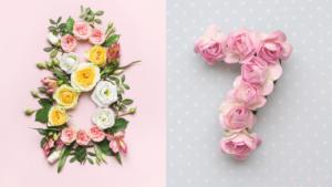 Floral-Number-1