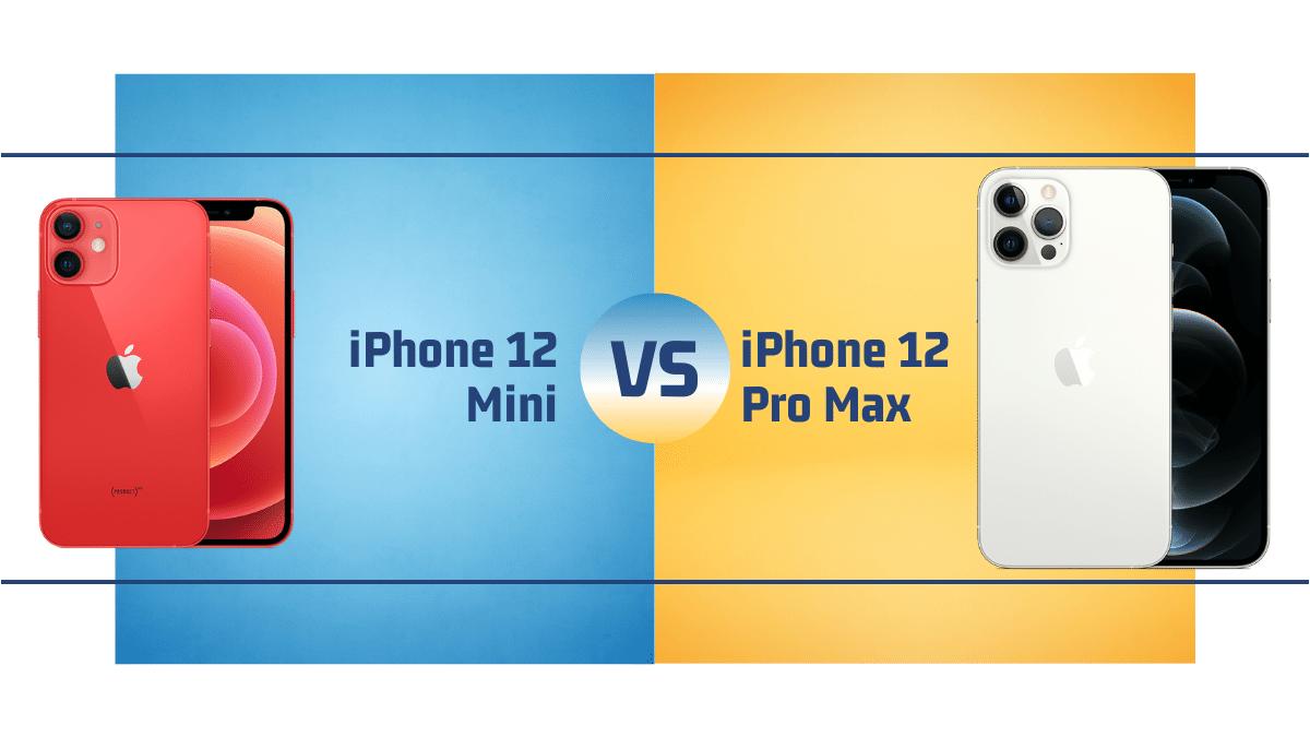 iPhone 12 Mini Vs. iPhone 12 Pro Max - Debongo