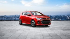 Premium Interior Of 2020 Chevrolet Sonic LT 5-Door -Westside Chevrolet