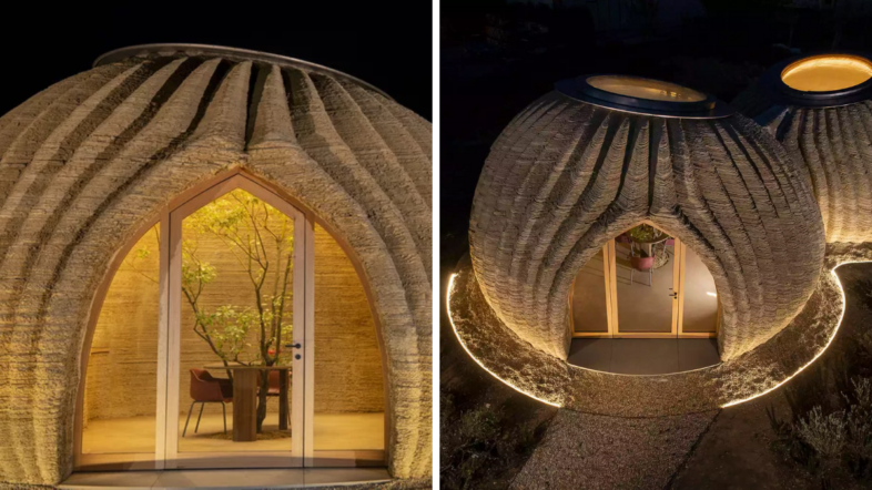 3D Printed Clay House